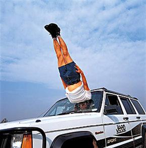 falling-through-the-car
